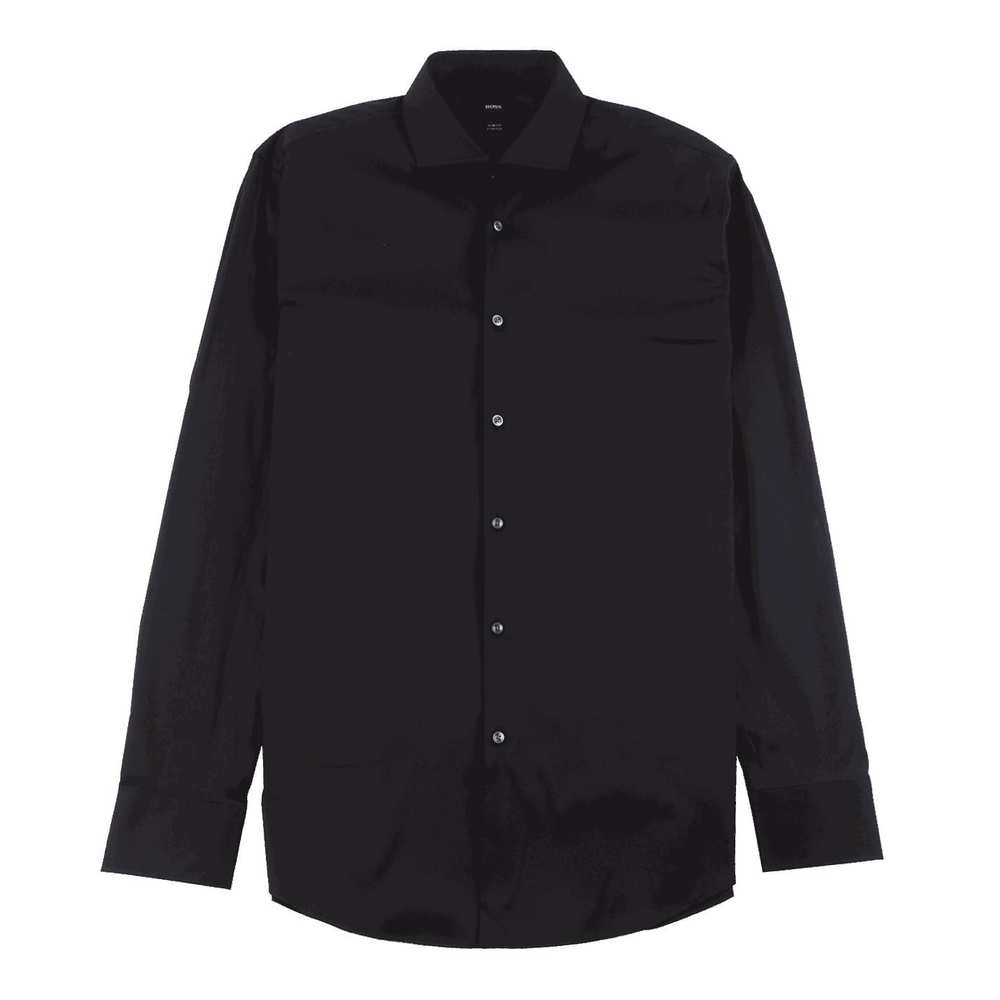 Slim Fit Shirt i ett sträckt bomullsblend Light