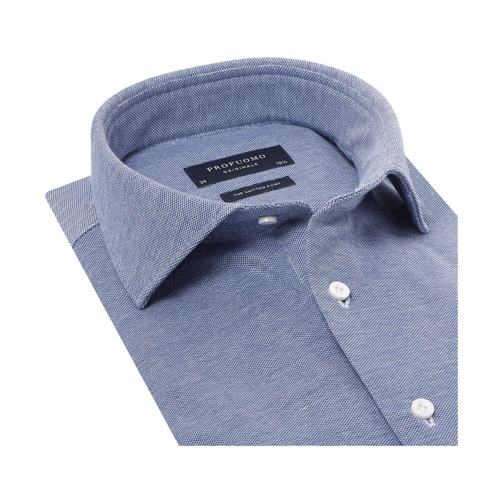 Blue Shirt | Profuomo | Overhemden | Herenkleding