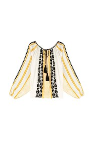 Constanta patterned blouse