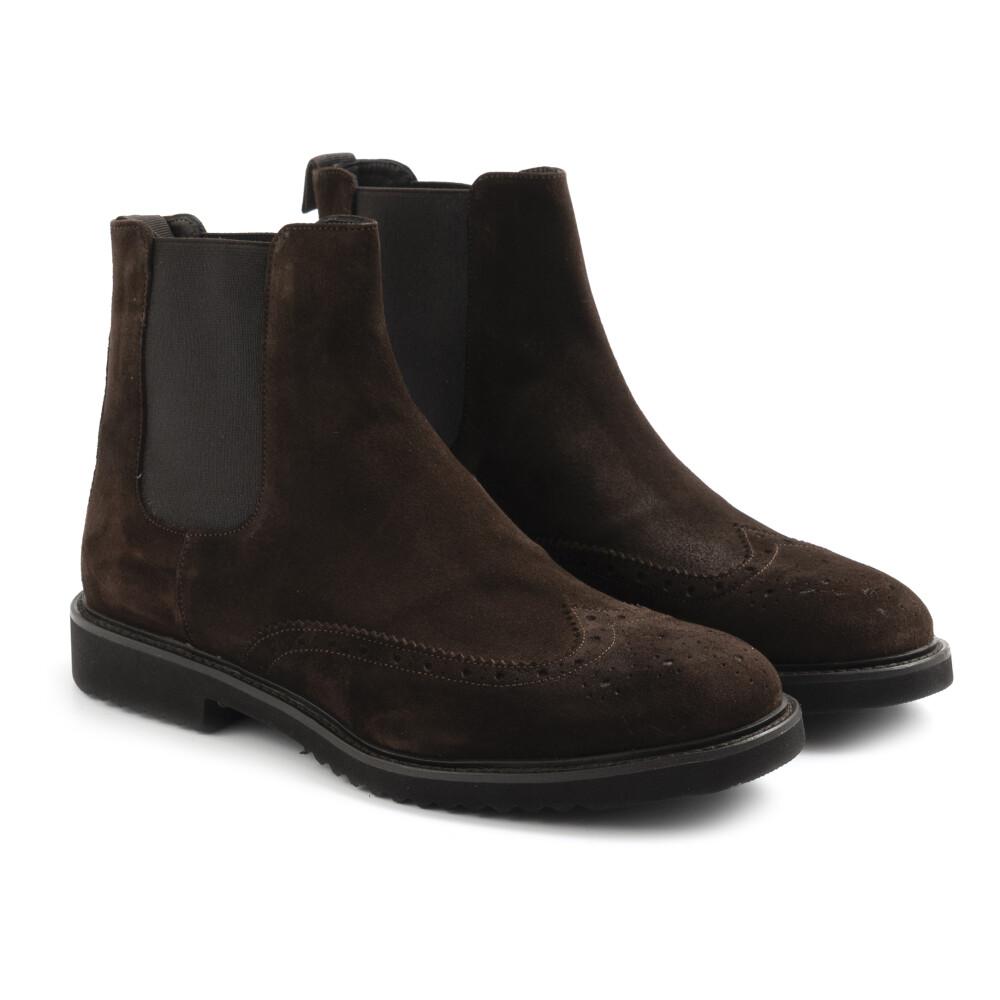 Sangiorgio Brown Boots Sangiorgio