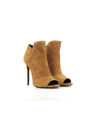 Open-toe heeled ankle boots 400