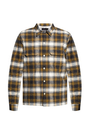 Infernus checked shirt