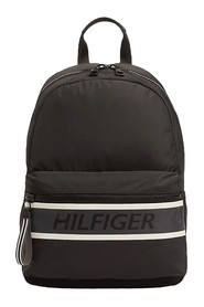 TOMMY HILFIGER AM0AM05219 TOMMY BACKPACK BACKPACK Unisex adult and guys BLACK