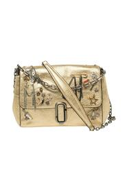 Leather Charms And Trinket Crossbody Bag