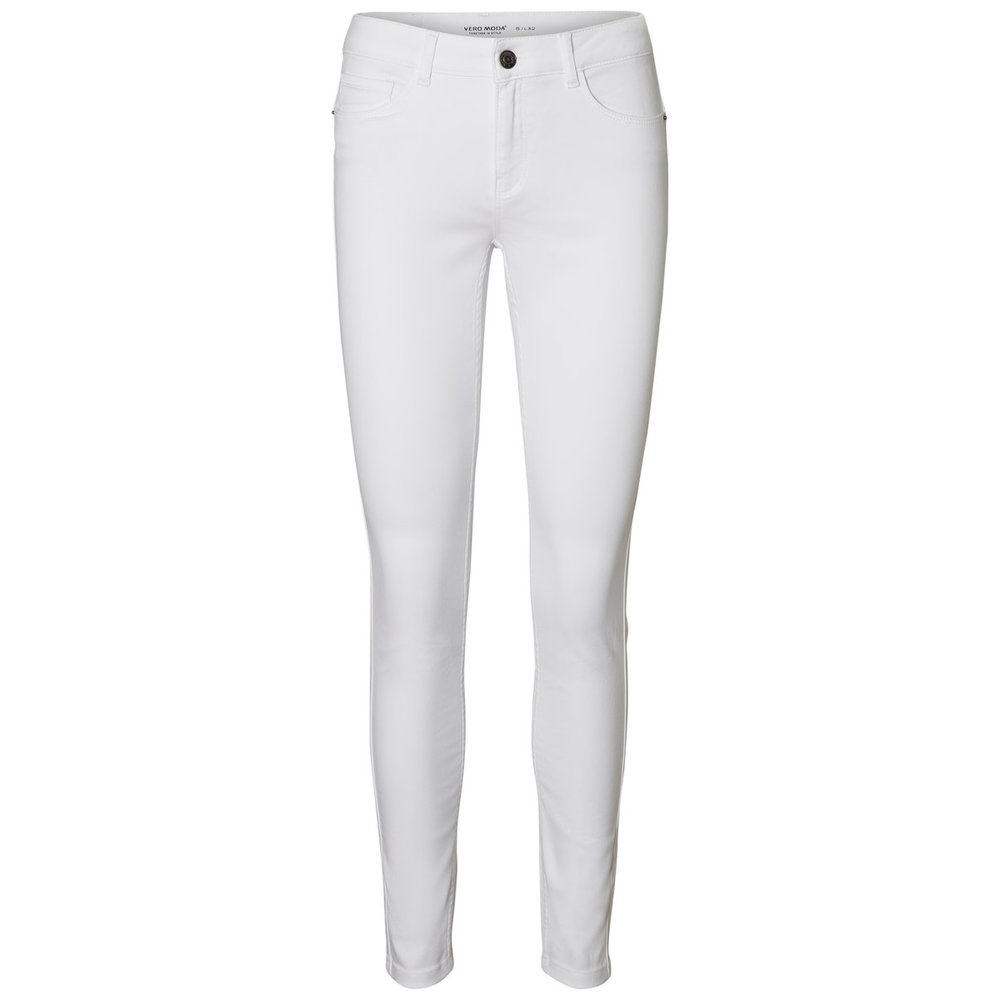 Skinny jeans Seven Witte NW Shape-Up
