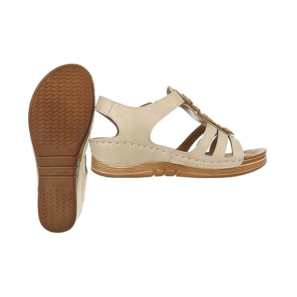Mulanka Tan Mulanka Sandale Sandaler - Brun