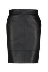 Francie leather skirt