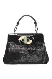 Isabella Rossellini Patent Leather Handbag
