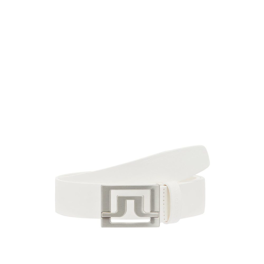 Belt Valerie White Leather