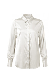 stretch shirt with detailed cuffs