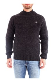 FRED PERRY K7513 JERSEY Men ANTHRACITE
