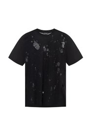 T-shirt with holes