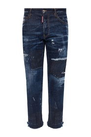 'Cool Guy Jean' jeans with raw edge