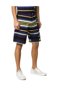 Striped Logo Track Shorts