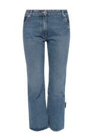 Jeans con logo