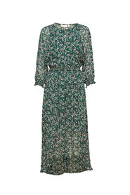 Hayden dress Warm green ditsy flowers - InWear