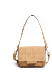 Honey Croco Handbag