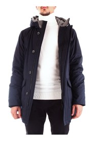 CORNELIANI 842AE6-9820144 Coat Men BLUE