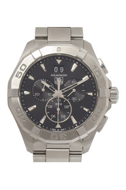 Aquaracer Chronograph Quartz Metal Stainless Steel