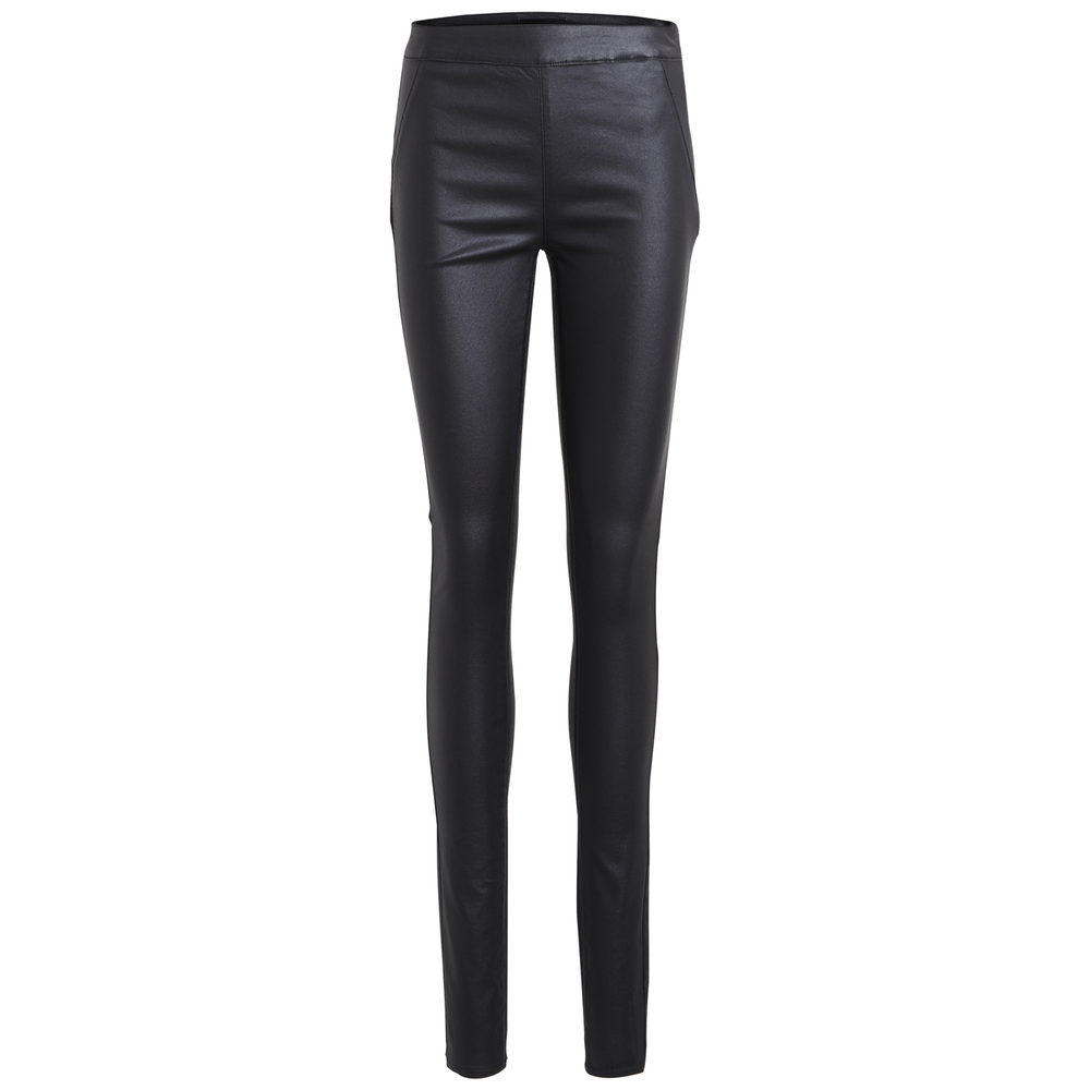belle coated pant black object