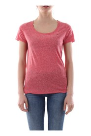 TOMMY JEANS DW0DW04435 ORIGINAL TRIBLEND T SHIRT AND TANK Women RED