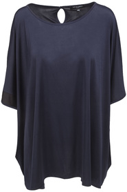 Ilse Jacobsen Top Emma117 Navy/Black