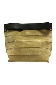 Suede Clutch Leather