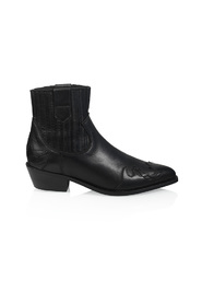western boot Austin Flame leather
