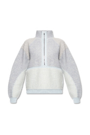 Sweater with high neck