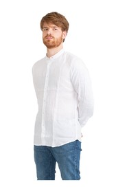 Korean slim linen shirt