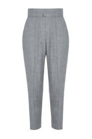 Trousers Tailored high-waist
