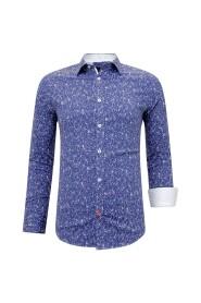 Heren Overhemd Bloemenprint- Slim Fit - 3085