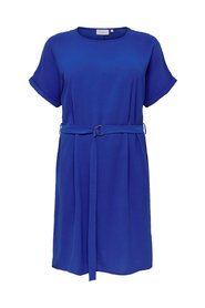 Dress Curvy solid colored