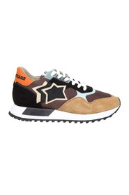 draco sneakers nylon and suede