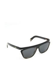 pre-owned Rectangular Sunglasses Black FF0384 / S
