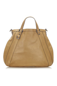 Abbey Satchel Leather Calf