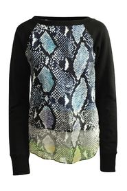 Printed Pull-Over