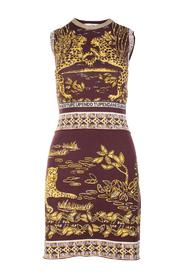 Print Knit Dress Pre Owned Condition Excellent
