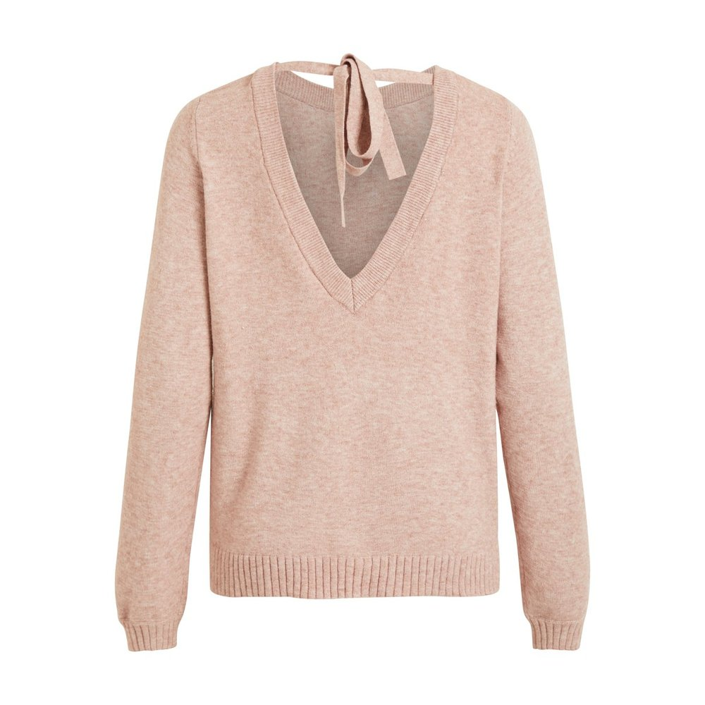 Knitted Pullover Back detail -