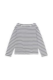blessed sweatshirt stripe