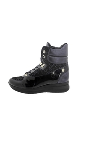 M: 2019509302001 PATENT LEATHER ANKLE BOOT