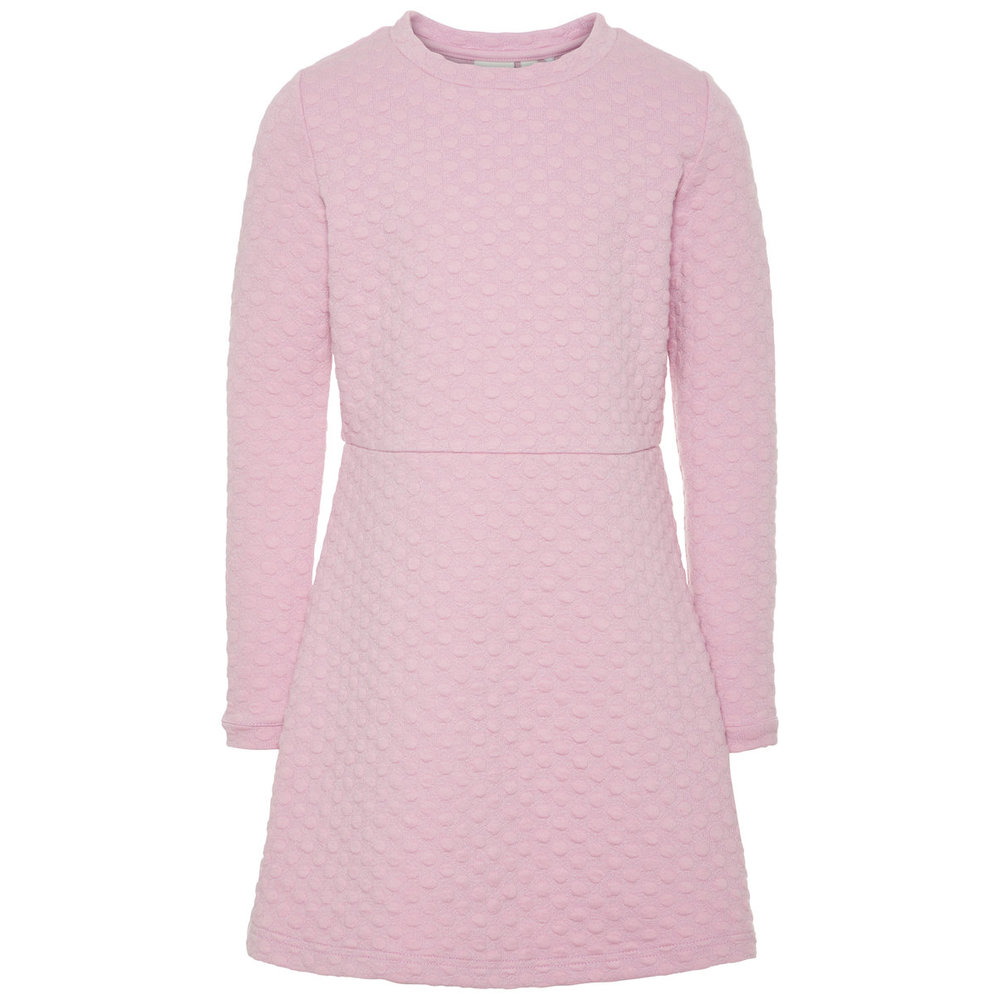 Long Sleeved dress dotted