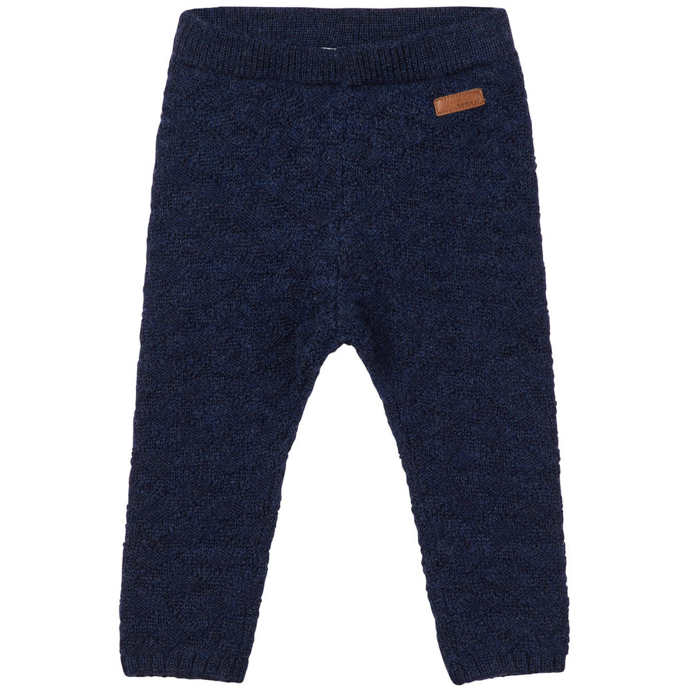Trousers wool knitted