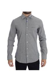 Striped Slim Fit Cotton Shirt