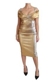 Bodycon Mantel Midi klänning