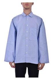 RAW-CUT DECOSTRUCTED SHIRT