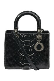 Pre-owned Lady Dior Python