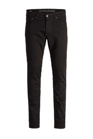 Sort Jack & Jones Jjiglenn Jjicon Jj 177 Bukse