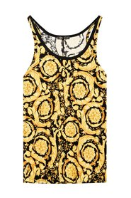Barocco-printed tank top