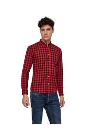 Johan Check long-sleeved shirt